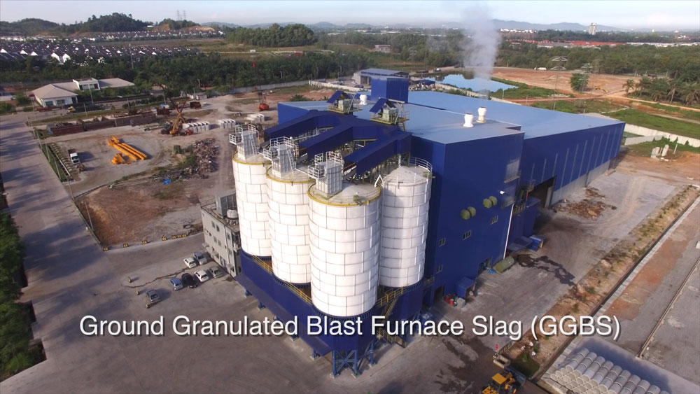 Ground Granulated Blast Furnace Slag Production Schematic : Products overview